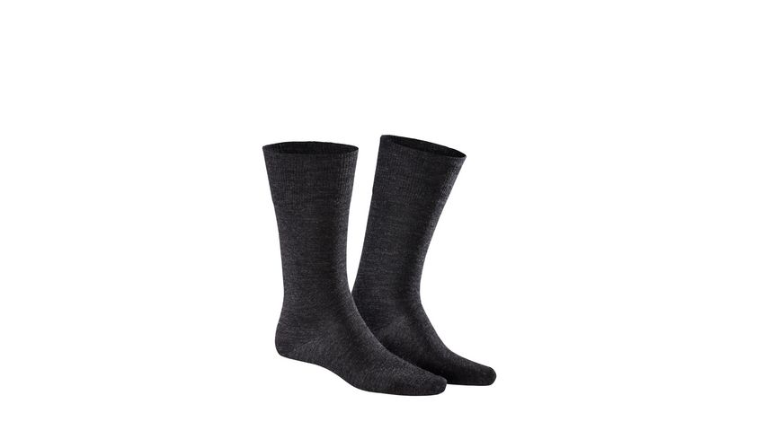KUNERT Herrensocken Comfort Wool 2er Pack