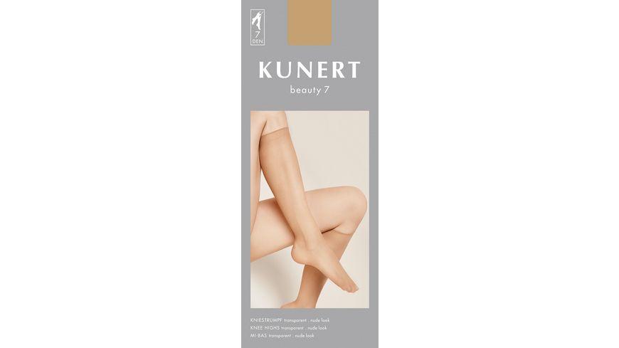 KUNERT Kniestrumpf Beauty 7