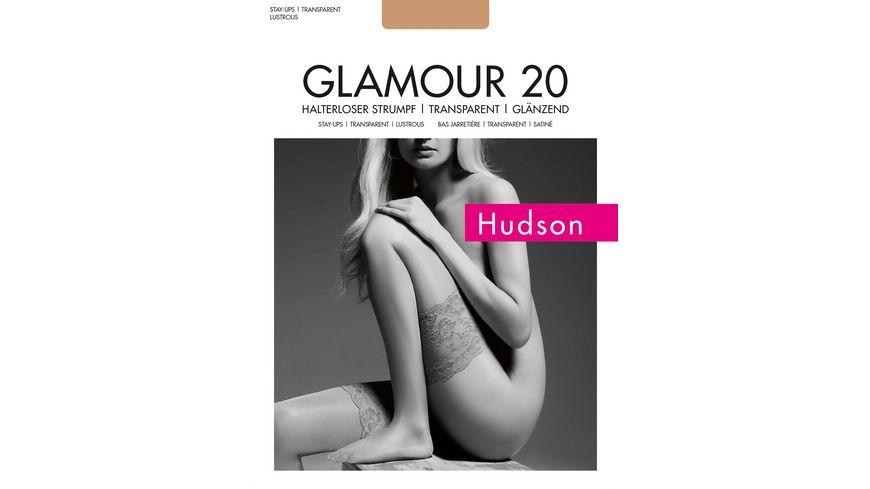 Hudson Halterlose Struempfe Glamour 20