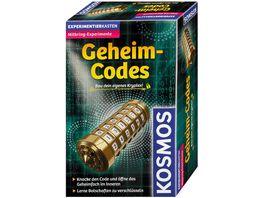 KOSMOS Mitbringexperimente Geheim Codes