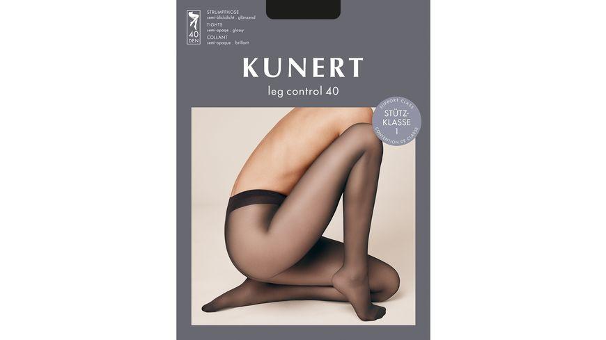 KUNERT Stuetzstrumpfhose Leg Control 40