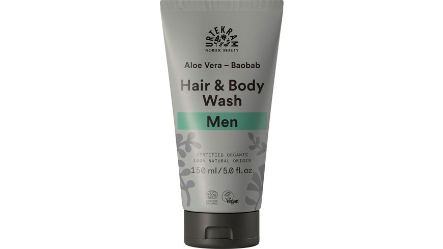 URTEKRAM Men Hair and Body Wash