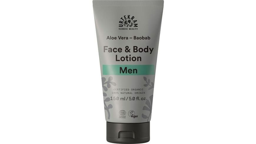 URTEKRAM Men Face and Body Lotion