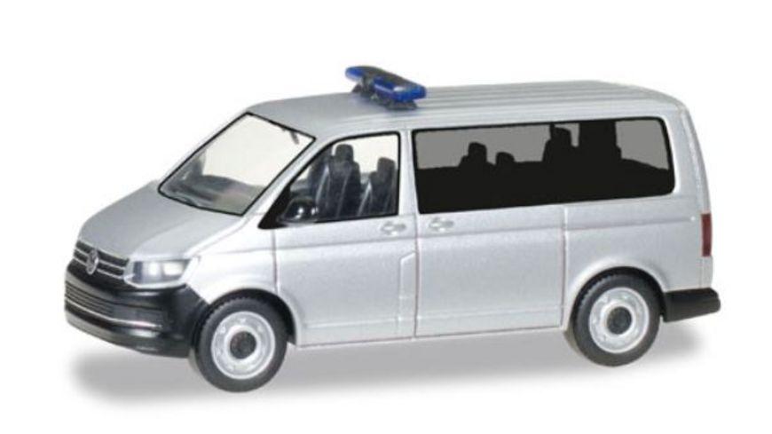 Herpa 012911 MiniKit VW T6 Bus silbermetallic
