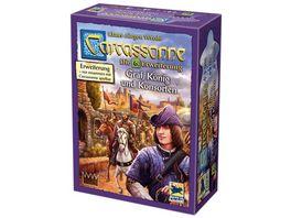 Hans im Glueck Strategiespiele Carcassonne 6 Erweiterung Graf Koenig und Konsorten