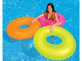Intex Schwimmring Wasserspielring Neon Frost sortiert