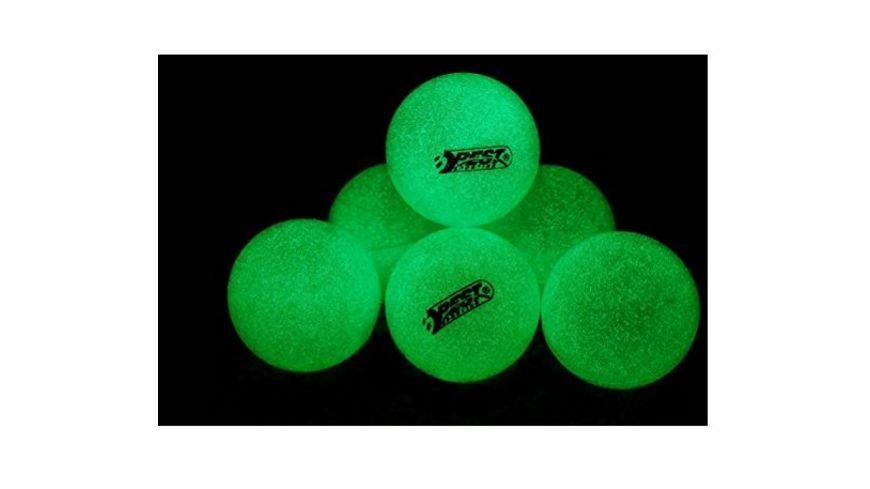 Best Tischtennisbaelle 6 Stueck leuchten im Dunkeln