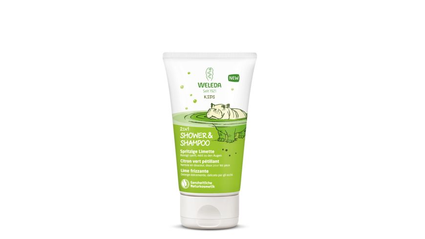 WELEDA Kids Shower Shampoo 2in1 Spritzige Limette