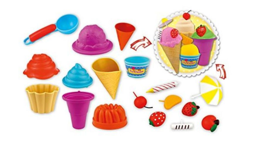 CRAZE Magic Sand Icecream und Bakery Set 700 g
