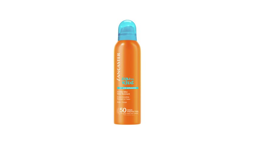 LANCASTER Sun For Kids Invisible Mist Wet Skin Application SPF 50