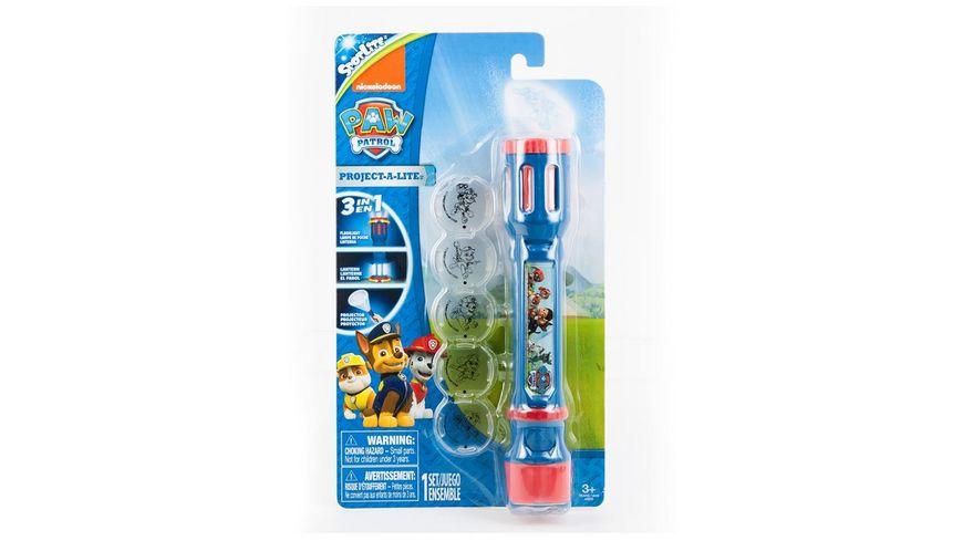 Joy Toy - Paw Patrol - 3 in  1  Nachtlicht  Taschenlampe und Projektor 40315