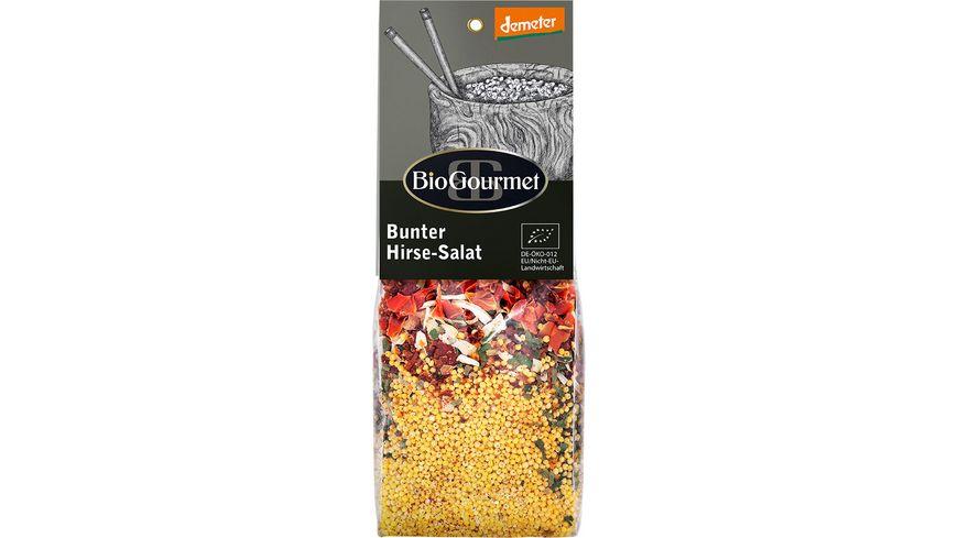BioGourmet Bunter Hirse Salat