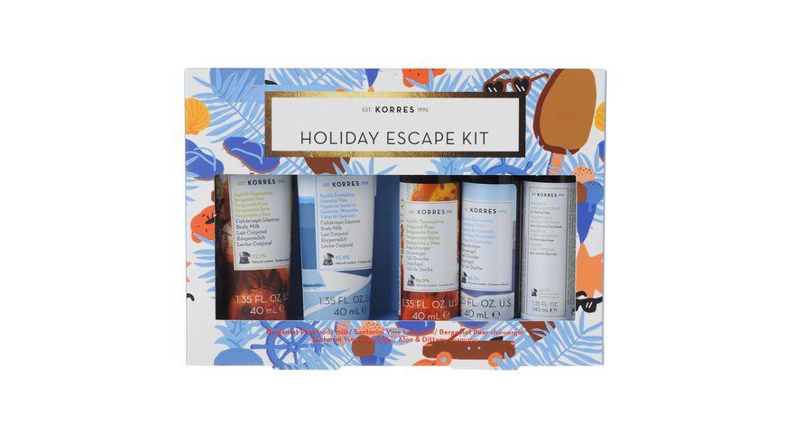 KORRES Holiday Escape Kit