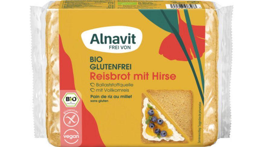 Alnavit Bio Reisbrot - glutenfrei