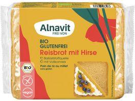 Alnavit Bio Reisbrot glutenfrei