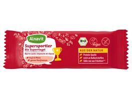 Alnavit Supersportler Bio Superriegel