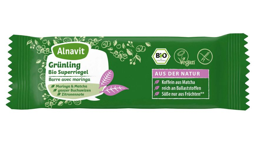 Alnavit Gruenling Bio Superriegel