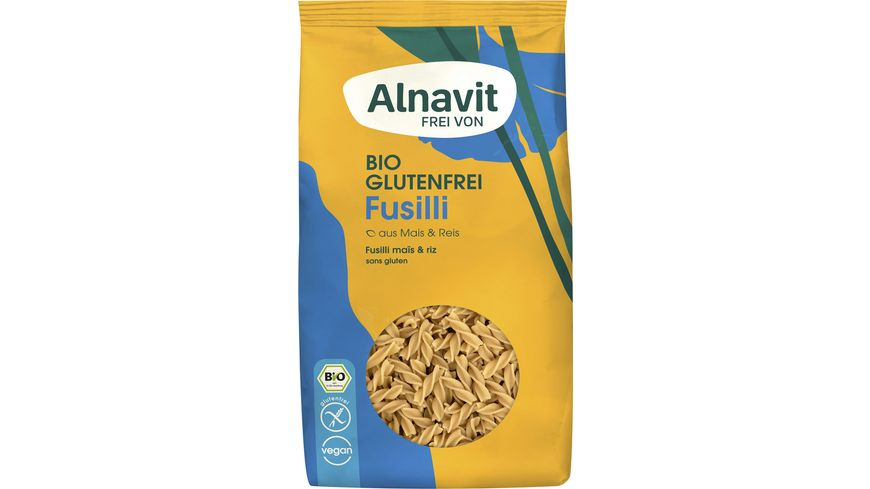 Alnavit Bio Fusilli - glutenfrei