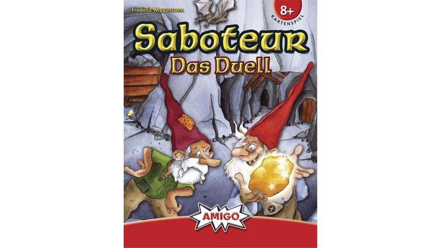 Amigo Spiele Saboteur Das Duell