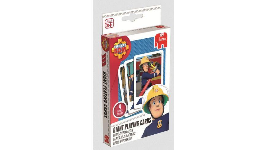 Jumbo Spiele Feuerman Sam Grosse Spielkarten