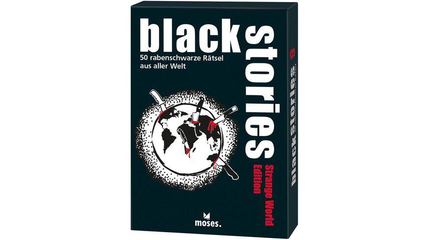 moses black stories Strange World Edition
