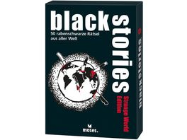 moses black stories Strange World Edition