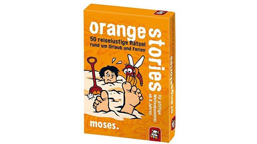 moses orange stories fuer pfiffige Weltenbummler