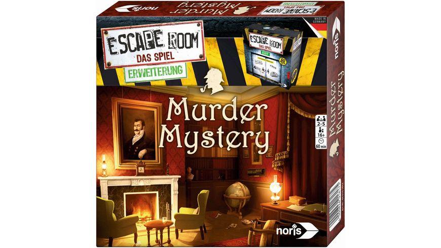 Noris Escape Room Erweiterung Murder Mystery