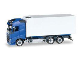 Herpa 307079 Volvo FH Gl Kuehlkoffer LKW blau weiss