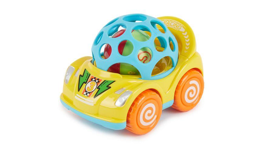 Bieco Rueckzug Auto mit Pop Kugel