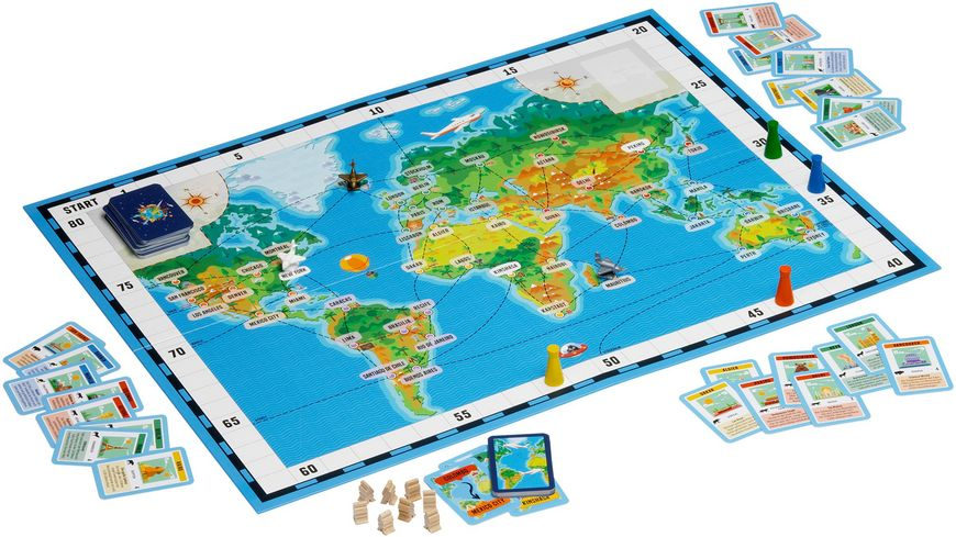 Spiel Reise Um Die Welt