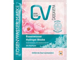 CV Rosenwasser Hydrogel Maske