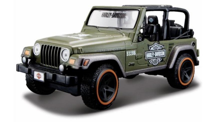 Maisto 1 24 Jeep Wrangler Rubicon