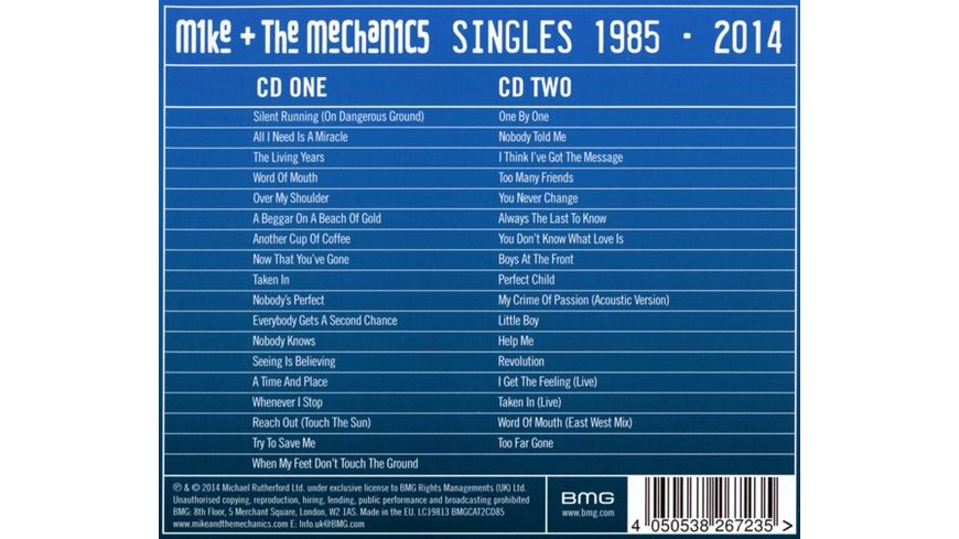 The Singles 1985 2014 Rarities
