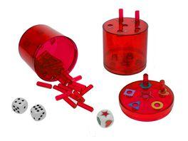 Piatnik Super Six XL rot Kunststoff