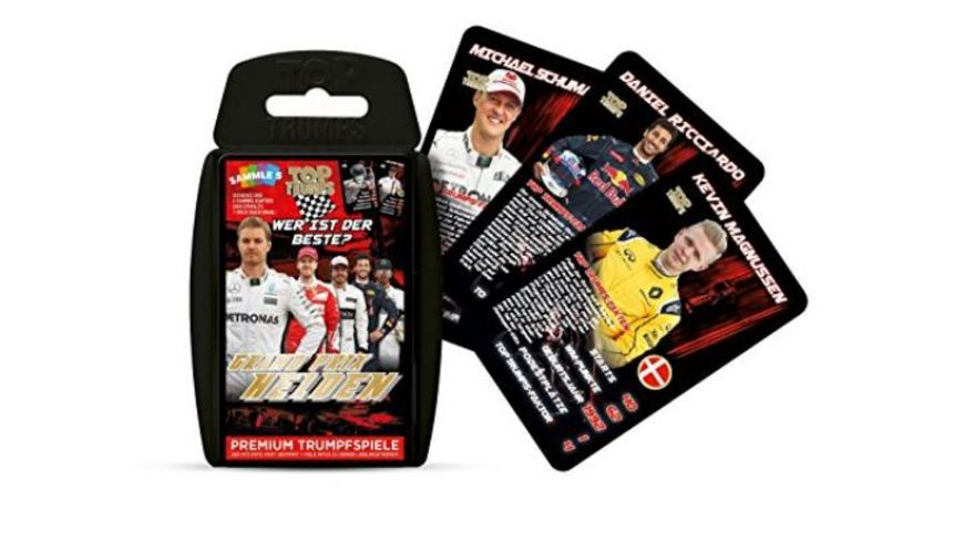Winning Moves Top Trumps Grand Prix Helden