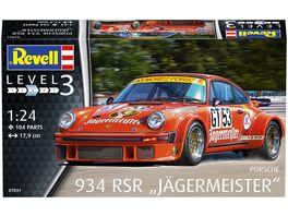 Revell 07031 Porsche 934 RSR Jaegermeister