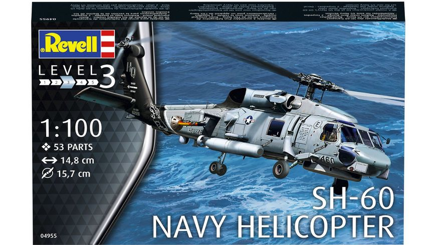Revell 04955 SH 60 Navy Helicopter
