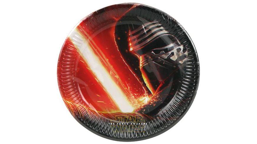 Procos Star Wars Party Teller 8 Stueck