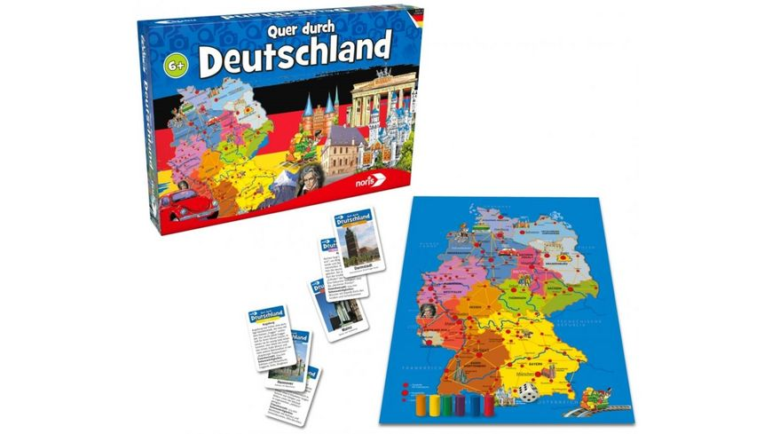 Noris Spiele Quer durch Deutschland