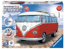 Ravensburger Puzzle 3D Puzzle Sonderformen Volkswagen T1 Surfer Edition 162 Teile