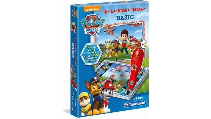 Clementoni E Lektor Quiz Basic Paw Patrol
