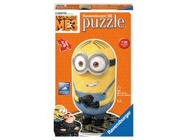 Ravensburger Puzzle 3D Puzzles Shaped Minion Despicable Me 3 Motiv 1 54 Teile