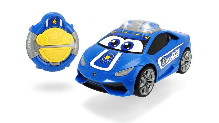 Dickie Toys Happy Series IRC Happy Lamborghini Huracan Police