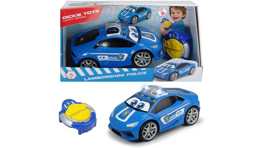 Dickie Toys Happy Series IRC Happy Lamborghini Huracan Police