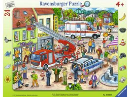 Ravensburger Puzzle Rahmenpuzzle 110 112 Eilt herbei 24 Teile
