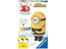 Ravensburger Puzzle 3D Puzzles Shaped Minion Despicable Me 3 Motiv 2 54 Teile