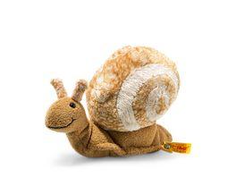 Steiff Snailly Schnecke beige braun 20cm