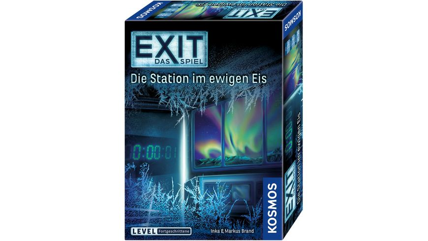 KOSMOS EXIT Das Spiel Die Station im ewigen Eis