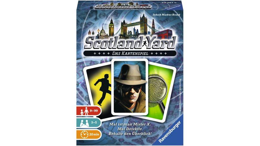 Ravensburger Spiel Scotland Yard Das Kartenspiel